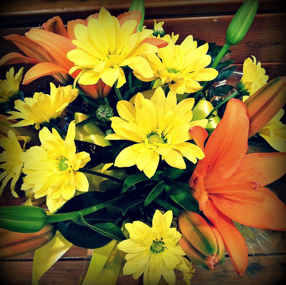 Flowers & Florists - Magazine cover