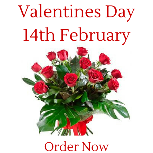 Order Roses now for Valentine's Day to get the best price
