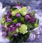 Brides Posy - Orchids, Tulips and Roses
