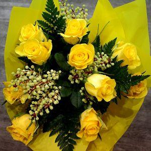 Yellow Rose Posy
