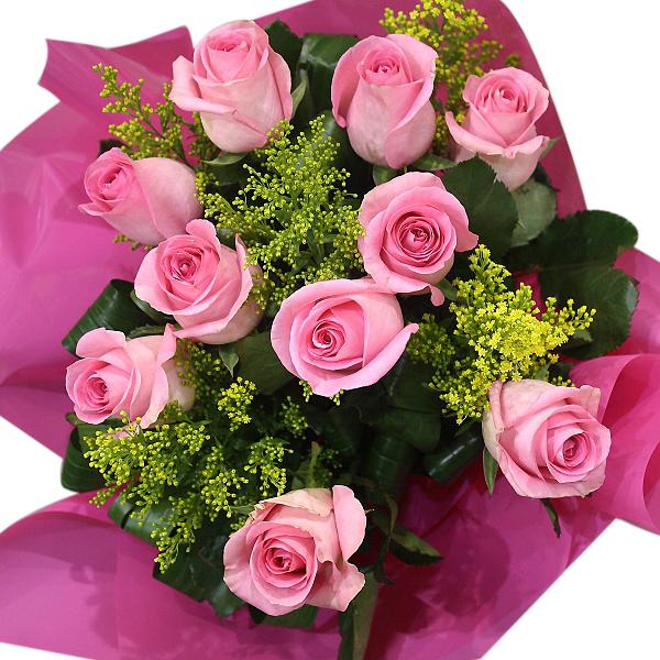 Wedding Flowers Rockingham Wa : Pink rose posy hanging basket florist rockingham