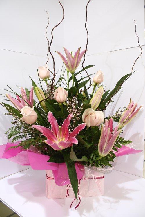 Wedding Flowers Rockingham Wa : Rose lily box hanging basket florist rockingham