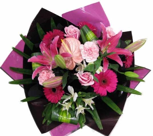 Wedding Flowers Rockingham Wa : Pretty in pink hanging basket florist rockingham