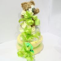 Medium Baby Shower Nappy Cake