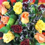 12 Long Stem Mixed Roses