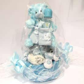 Boy Nappy Cake Medium