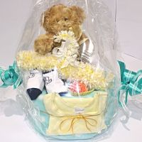 Small Baby Shower Nappy Cake