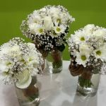 Bride and Bridesmaids Rustic Posies