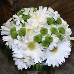 Bridal Posy Gerberas, Orchids, Chrysanthemeums.jpg