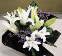 White Oriental Bouquet