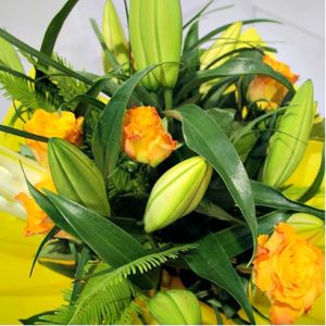 Bright Bouquet of Birthday Flowers from a Bertram Florist